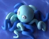 Gum Paste Curly Legged Octopus