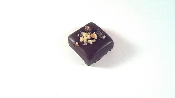 Vegan Sea Salt Caramels W. Organic Black Mission Figs & Colorado Port