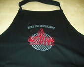 Personalised Cotton BBQ Apron Fathers Day Gift