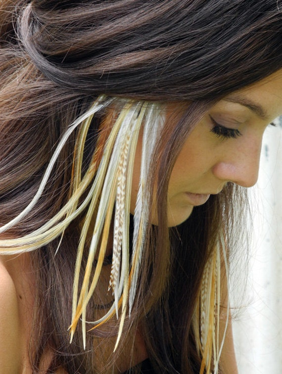 Feather Hair Extensions Etsy 101