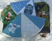 Mini Tree Skirt/Table Topper - Zombie Santa, Yeti, Old Man Winter, Skeleton Santa