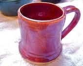 Small Plum Red Mug