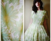 Spring Water Color Flower Dress