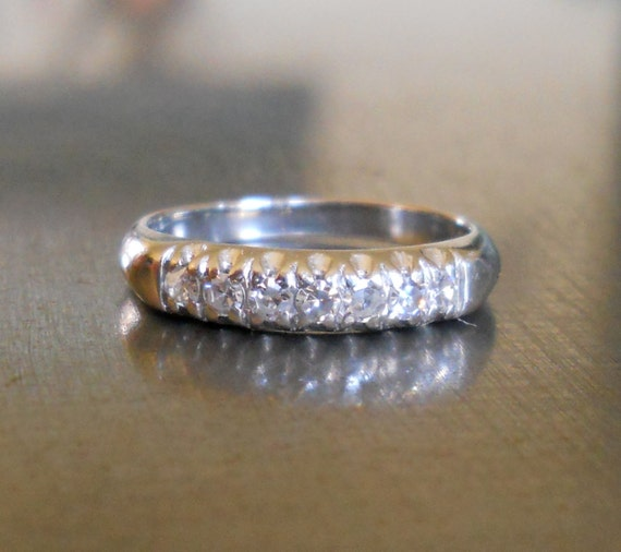 Engagement Ring - Diamond and 14K White Gold