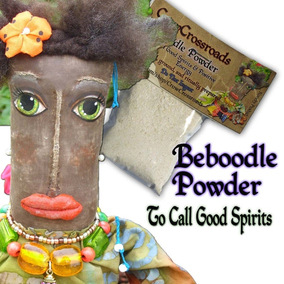 Traditional Spirit Powder for Calling Spirits, the Happy Dead & Good Energies Spells and Rituals, Wicca, Pagan