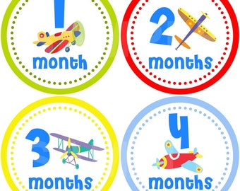 FREE GIFT Monthly Photo Stickers Baby Month Stickers Baby Boy Monthly Stickers Month Stickers Monthly Bodysuit Stickers Milestone Stickers