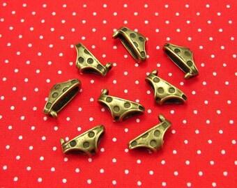 20 pcs Antique Bronze Panties Charms 14x7mm CH0415
