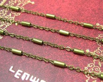 Brass Chain,16 Feet Nickel Free Antique Bronze Chain Link 2x1.5mm CH0656