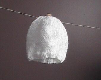 Teeny Weeny Preemie Knit Hat