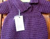 Purple Short Sleeve Tunic 6-9 months