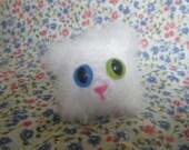 Flossie the Persian Kitty - Adopt a Kitten.  Miniature Crochet Amigurumi