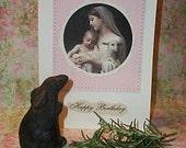 Mary's Child Birthday Card