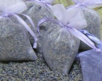 100 Lavender Sachet HIGHEST FRAGRANCE Organic Wedding Favor Shower Bridal Biodegradable Toss Bulk Purple Ivory Blue Pink White Gold Gray