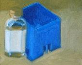 The beginning of an Idea - Original Oil Painting