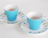 Tea for Two - Vintage Cups and Saucers