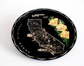 Vintage Souvenir California Tray