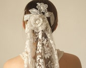 French Vintage Lace Veil