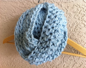 My itsy mommy infinity cowl scarf XL-taupe, black, glacier-birthday or christmas gifts-fall and winter