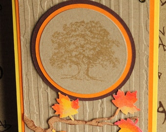 All Occasion Embossed Tree Card
