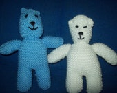 Knitted Bear - large size