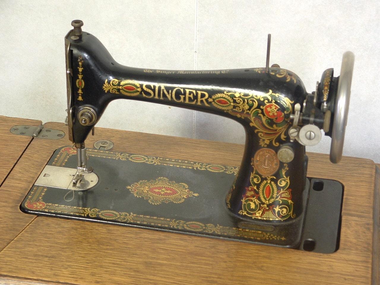 singer treadle machine serial numbers