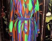 """RESERVED Vintage 1970's """"Lanvin"""" Dress"""