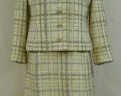 "Vintage 1960's 2 Piece ""Robert Leonard"" Jacket and Dress"