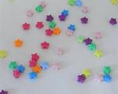 300 Tiny Mixed Star Beads