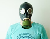 The GP-5 Gas Mask Black - Soviet Union - New with Original Bag - Made in USSR in 1980s - Collectible - Halloween Costume