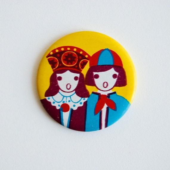 Soviet Pin - Unique Original Pin Button - Made in USSR