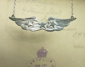 Hey Girl, You Got Wings - Silver Necklace