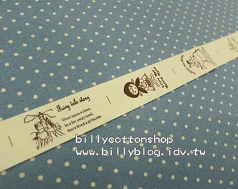 V142 - cotton tape/ sewing tape/ Ribbon - cotton - little red ridding hood