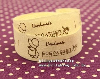 V543 - cotton tape/ sewing tape/ Ribbon - cotton - sue