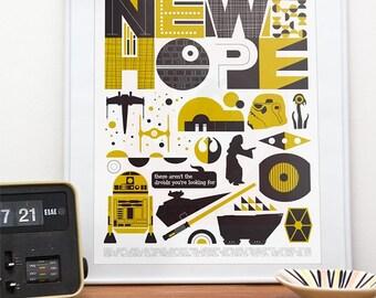 imprimer affiche de star wars baby star wars star wars art. Black Bedroom Furniture Sets. Home Design Ideas