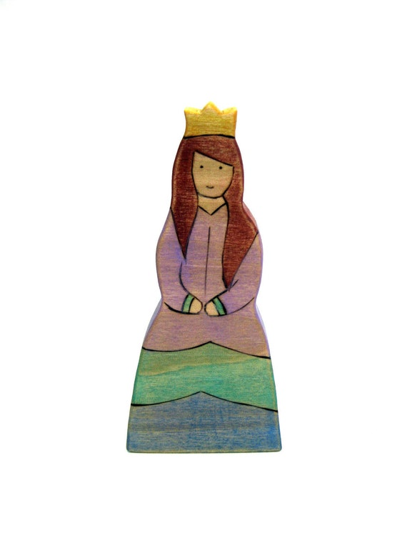 Princess Toy - Handmade Toy - Wooden Toy - Waldorf Toy