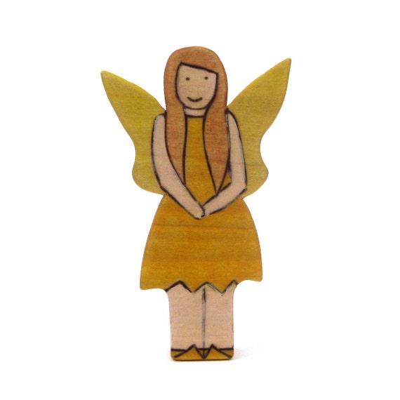 Sunshine Fairy - Handmade Toy - Wooden Toy - Waldorf Toy