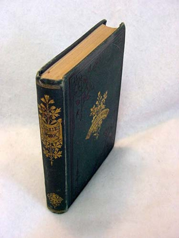 Rare Vintage 1st Ed Book JESSIE'S WORK Or Faithfulness In Little Things.. By Mary Shipley