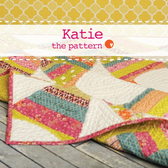 Katie Quilt - PDF Quilt Pattern