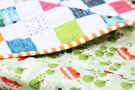 Busy Boy Quilt - PDF Pattern also available