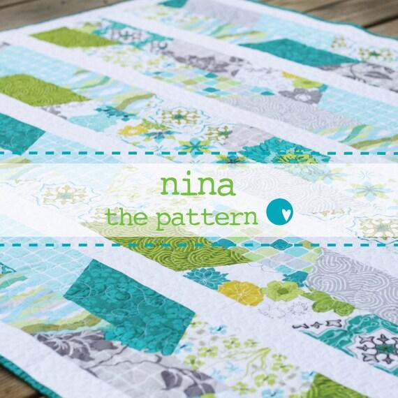 Nina Quilt Pattern PDF