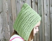 Pixie Hat - Pixie Bonnet - Elf Hood - Gnome Hat - Pixie Hood - Elf Hat - Pixie Hat - Toddler - MyStitchInTime