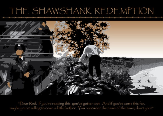 Classic Movie No.3 - The Shawshank Redemption (A2 poster)