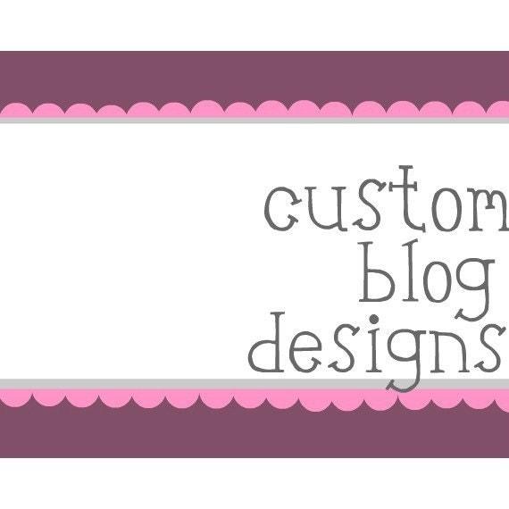 Custom Made Blog Design