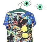 FISH TANK club kid, lycra shirt