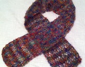 Holiday Mohair Scarf