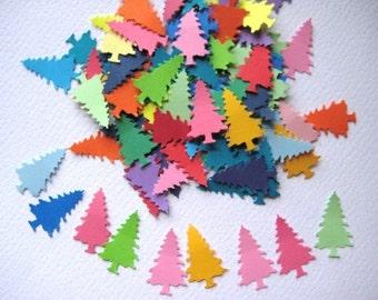 100 Tree punch die cut embellishments noE175
