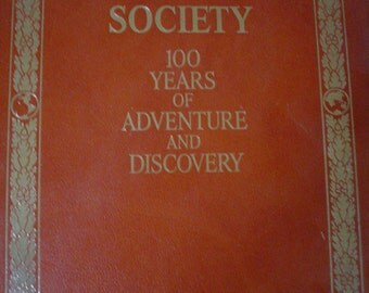 SALE National Geographic Society 100 years Vintage Photography Book SALE