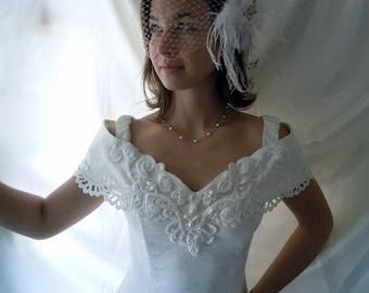 Vintage Wedding Dress - Vintage Wedding Gown - Jessica McClintock Dress - Brides Dress - Brides Gown