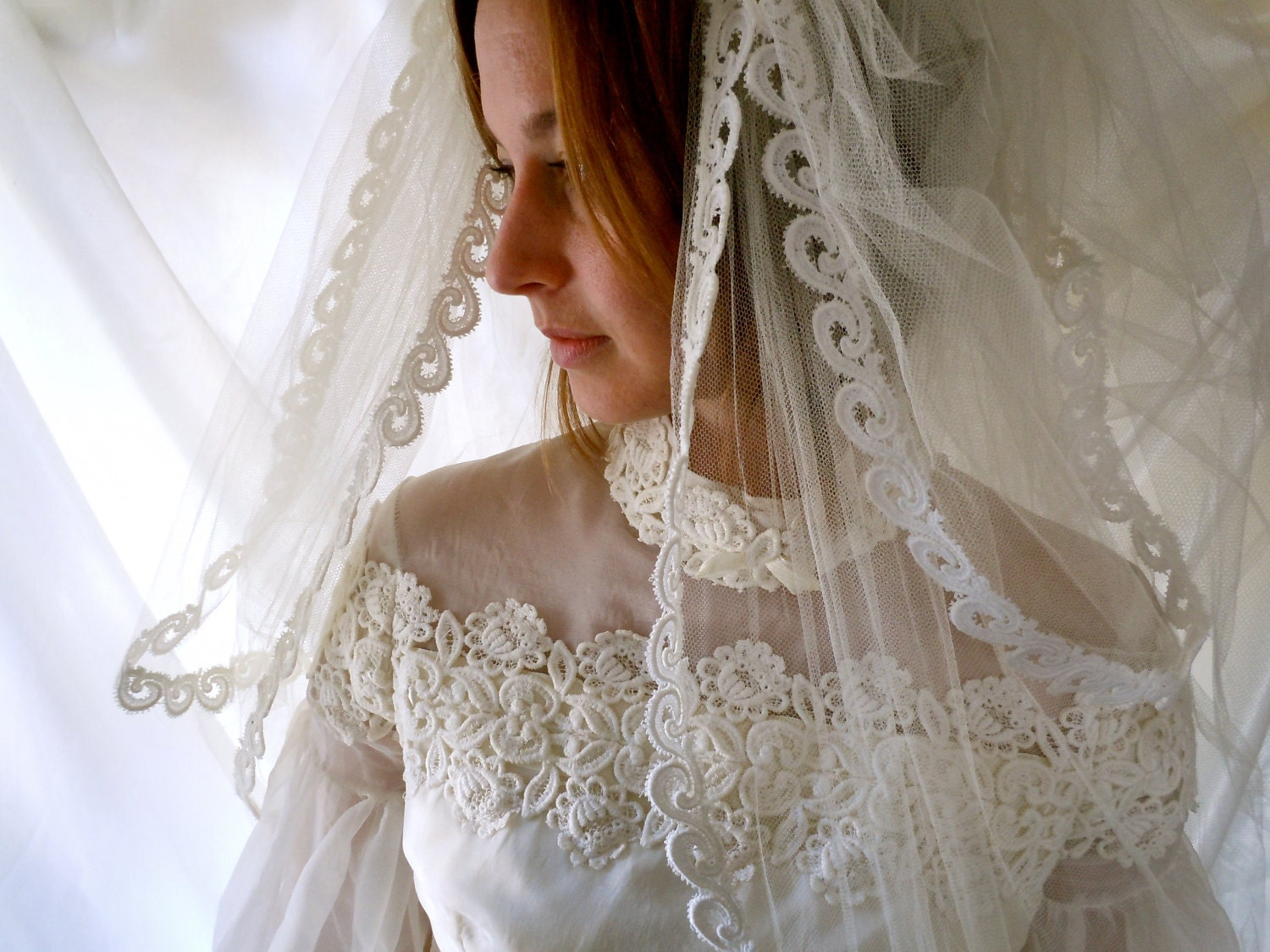 Classic Wedding Gown Designs: Vintage Alfred Angelo 1960s Designer Wedding Gown Reserved For