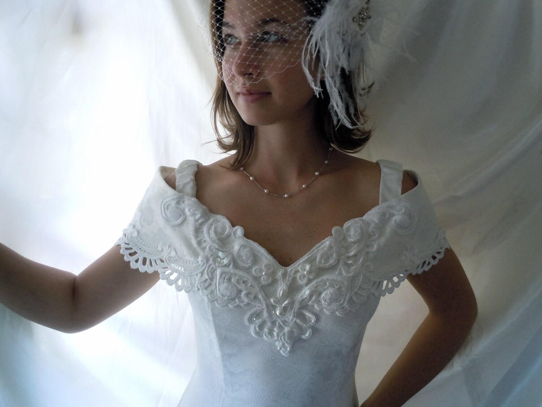 Vintage Wedding Dress Vintage Wedding Gown Jessica